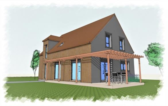 Maison+Terrain à vendre .(140 m²)(SAINT REMY L'HONORE) avec (NATILIA)