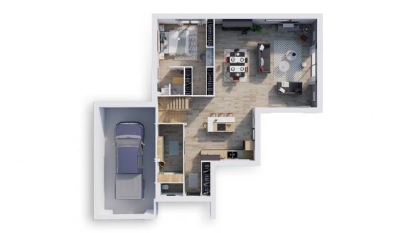 Maison+Terrain à vendre .(140 m²)(RAMBOUILLET) avec (NATILIA)