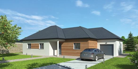 Maison à vendre .(130 m²)(CIVRY LA FORET) avec (NATILIA)