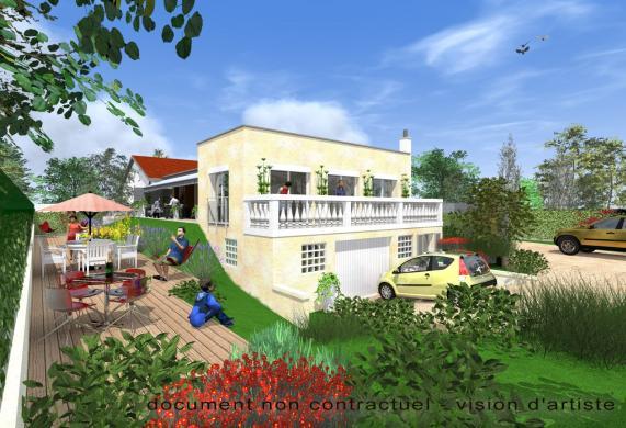 Maison+Terrain à vendre .(123 m²)(SAINTE CONSORCE) avec (MAISONS ET JARDINS)