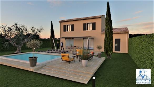Maison+Terrain à vendre .(92 m²)(BEDARRIDES) avec (ATELIER DU BATIMENT)