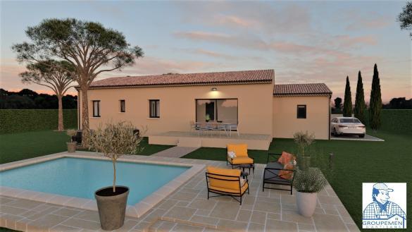 Maison+Terrain à vendre .(90 m²)(SUZE LA ROUSSE) avec (ATELIER DU BATIMENT)