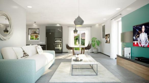 Maison à vendre .(116 m²)(HERGUGNEY) avec (ALSEBAT - AGENCE DE NEUFCHATEAU)