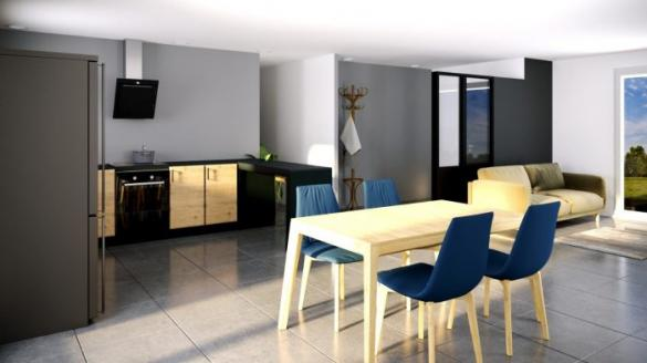 Maison à vendre .(113 m²)(MAIXE) avec (ALSEBAT - AGENCE DE NEUFCHATEAU)