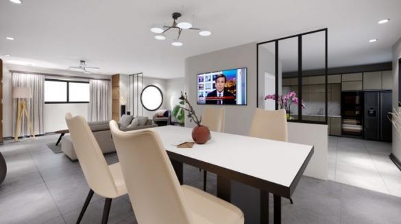 Maison à vendre .(110 m²)(BREUVANNES EN BASSIGNY) avec (ALSEBAT - AGENCE DE NEUFCHATEAU)