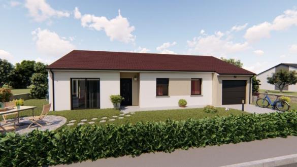 Maison à vendre .(94 m²)(JUVELIZE) avec (ALSEBAT - AGENCE DE NEUFCHATEAU)