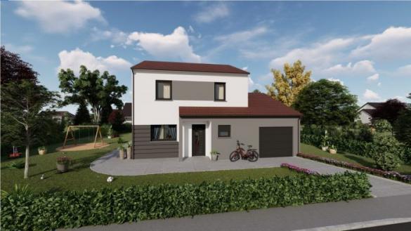 Maison à vendre .(107 m²)(BICQUELEY) avec (ALSEBAT - AGENCE DE NEUFCHATEAU)