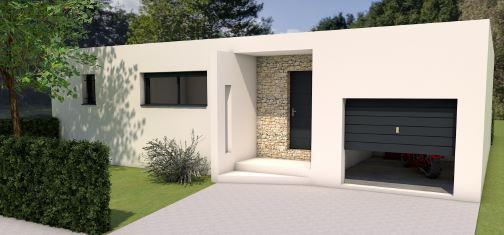 Maison à vendre .(80 m²)(MEYNES) avec (MAISONS MADDALENA)