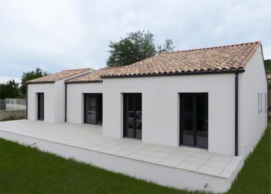 Maison+Terrain à vendre .(85 m²)(NIMES) avec (MAISONS MADDALENA)
