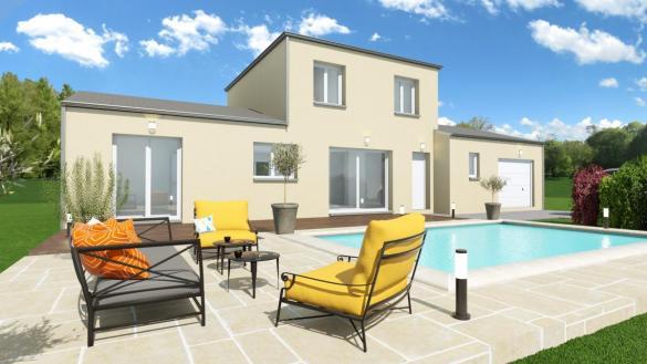 Maison à vendre .(80 m²)(LUNEL) avec (ESQUISS CASTELNAU)