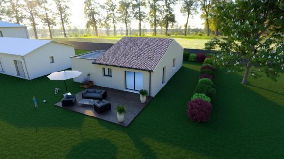 Maison à vendre .(90 m²)(RESTINCLIERES) avec (ESQUISS CASTELNAU)