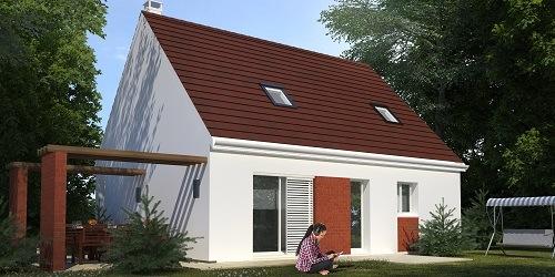 Maison+Terrain à vendre .(99 m²)(ACQUIGNY) avec (HABITAT CONCEPT)
