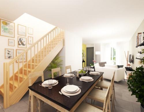Maison à vendre .(87 m²)(QUINCY SOUS SENART) avec (Habitat Parcoeur La Ville du Bois 2)