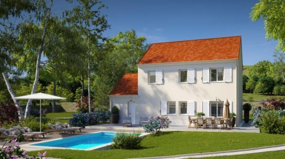 Maison à vendre .(110 m²)(BEYNES) avec (Habitat Parcoeur La Ville du Bois 2)