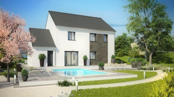 Maison à vendre .(133 m²)(GAZERAN) avec (Habitat Parcoeur La Ville du Bois 2)