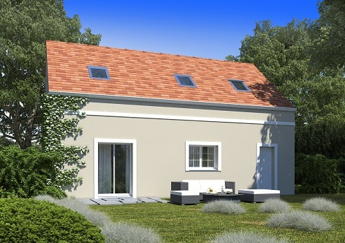 Maison+Terrain à vendre .(98 m²)(LAMORLAYE) avec (MAISONS.COM)
