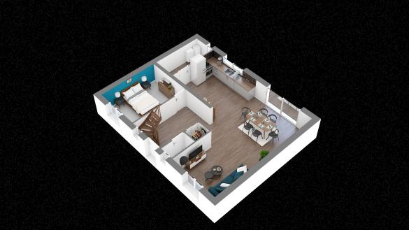 Maison+Terrain à vendre .(123 m²)(CHAMPAGNE SUR OISE) avec (MAISONS.COM)