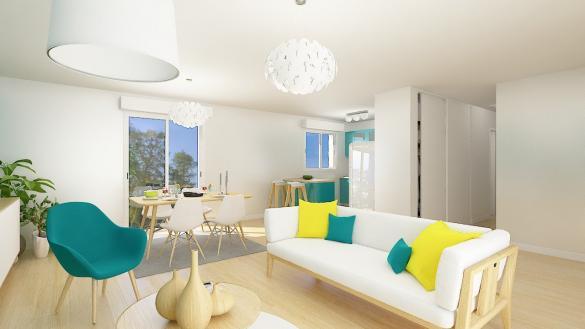 Maison+Terrain à vendre .(75 m²)(SAINNEVILLE) avec (MA MAISON CONSTRUCTION BOIS)