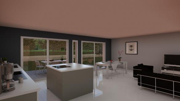 Maison+Terrain à vendre .(95 m²)(MARCILLOLES) avec (Demeures Caladoises)