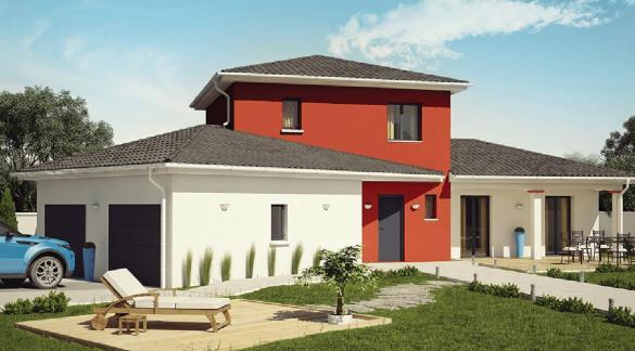 Maison+Terrain à vendre .(111 m²)(CHATONNAY) avec (Demeures Caladoises)
