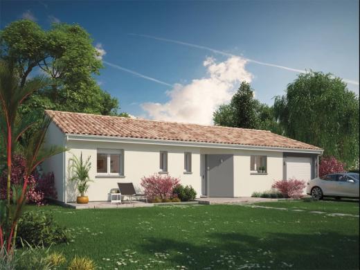 Maison+Terrain à vendre .(85 m²)(HAUT MAUCO) avec (Maisons MCA Mont de Marsan)