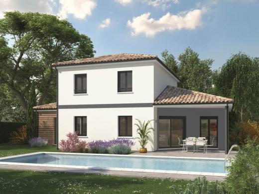 Maison+Terrain à vendre .(130 m²)(BASCONS) avec (Maisons MCA Mont de Marsan)