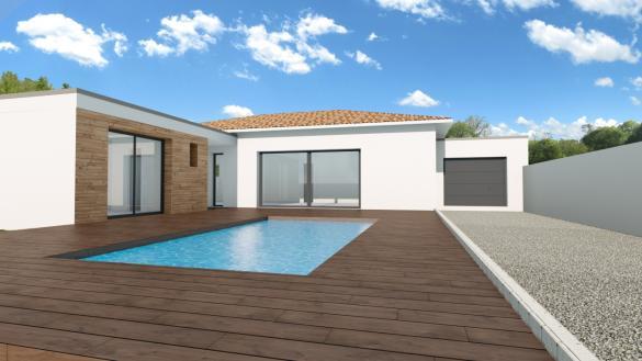 Maison+Terrain à vendre .(110 m²)(VIAS) avec (VILLAZUR)