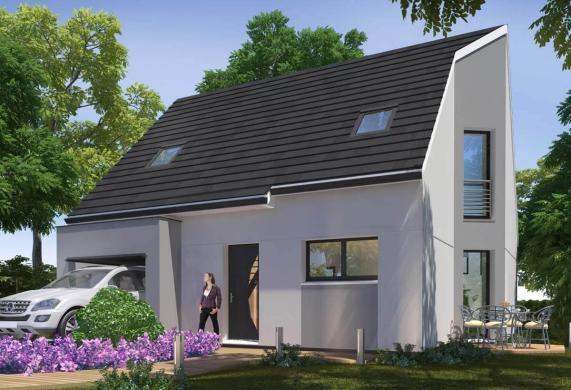 Maison+Terrain à vendre .(106 m²)(MEAUX) avec (MAISONS ABITEA)
