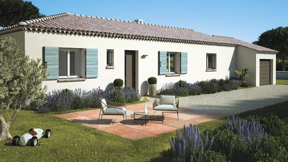 Maison+Terrain à vendre .(90 m²)(CHATEAUNEUF DU PAPE) avec (LES MAISONS DE MANON)