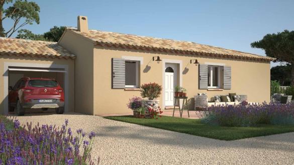 Maison+Terrain à vendre .(90 m²)(RASTEAU) avec (LES MAISONS DE MANON)