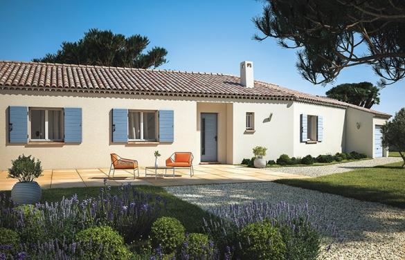 Maison+Terrain à vendre .(130 m²)(VALREAS) avec (LES MAISONS DE MANON)