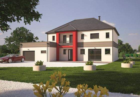 Maison+Terrain à vendre .(200 m²)(PONT L'EVEQUE) avec (MAISONS BALENCY)