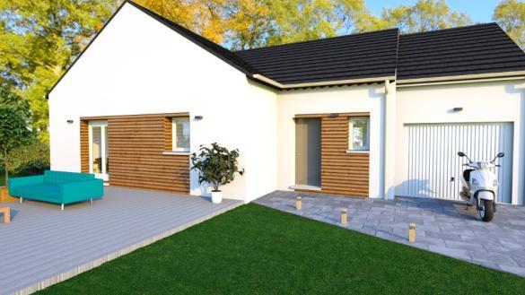 Maison+Terrain à vendre .(90 m²)(TILLY SUR SEULLES) avec (MAISONS BALENCY)