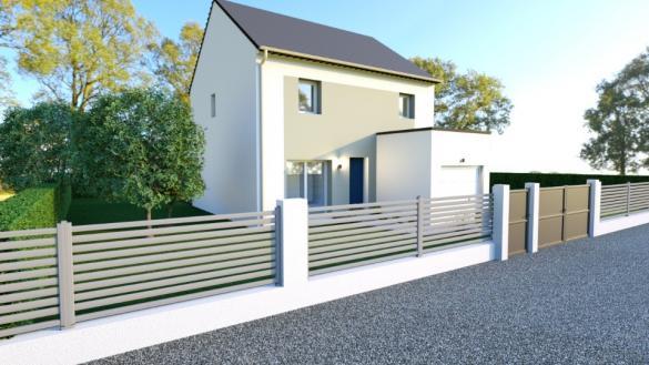 Maison+Terrain à vendre .(83 m²)(BRETTEVILLE SUR LAIZE) avec (MAISONS BALENCY)