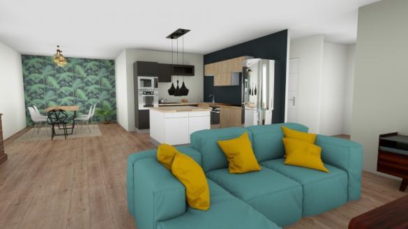 Maison+Terrain à vendre .(76 m²)(FALAISE) avec (MAISONS BALENCY)