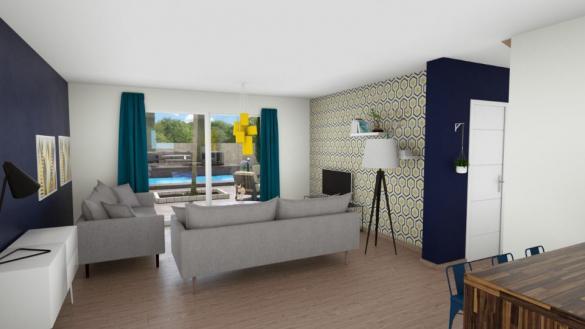 Maison+Terrain à vendre .(60 m²)(OUISTREHAM) avec (MAISONS BALENCY)