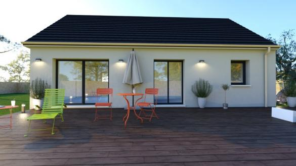 Maison+Terrain à vendre .(73 m²)(VERSAINVILLE) avec (MAISONS BALENCY)