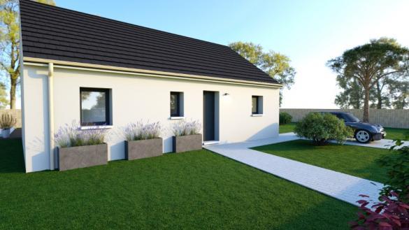 Maison+Terrain à vendre .(60 m²)(LUC SUR MER) avec (MAISONS BALENCY)