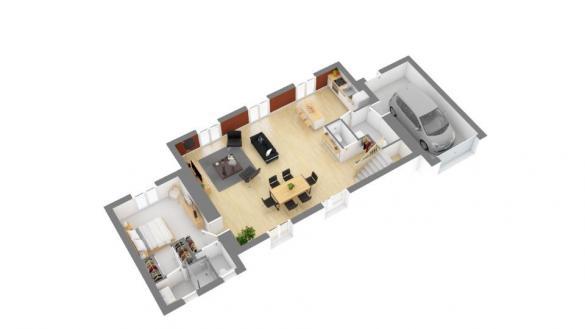 Maison+Terrain à vendre .(145 m²)(DIGNE LES BAINS) avec (MAISONS FRANCE CONFORT)