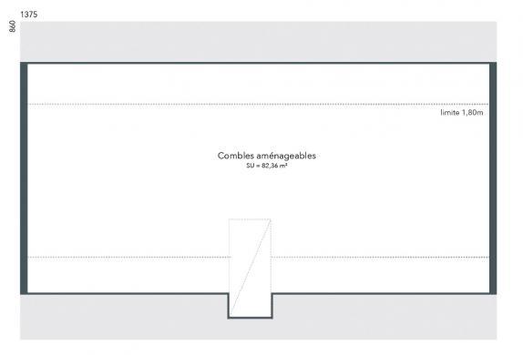 Maison+Terrain à vendre .(100 m²)(PITHIVIERS) avec (MAISONS FRANCE CONFORT)