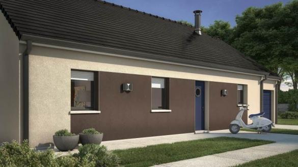 Maison+Terrain à vendre .(60 m²)(BOISSY SOUS SAINT YON) avec (MAISONS FRANCE CONFORT)
