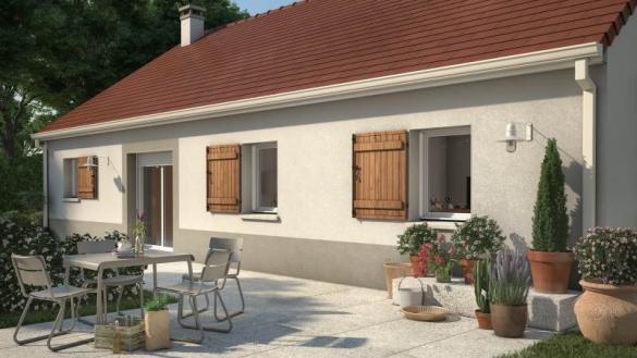Maison+Terrain à vendre .(93 m²)(ENTRE DEUX MONTS) avec (MAISONS FRANCE CONFORT)