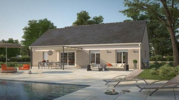 Maison+Terrain à vendre .(60 m²)(MONTREUIL AUX LIONS) avec (MAISONS BALENCY)