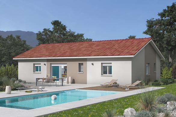 Maison+Terrain à vendre .(84 m²)(BAS EN BASSET) avec (MAISONS FRANCE CONFORT)