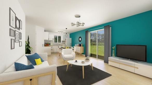 Maison+Terrain à vendre .(80 m²)(BAS EN BASSET) avec (MAISONS FRANCE CONFORT)