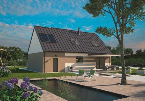 Maison+Terrain à vendre .(100 m²)(LA FERTE ALAIS) avec (MAISONS BALENCY)