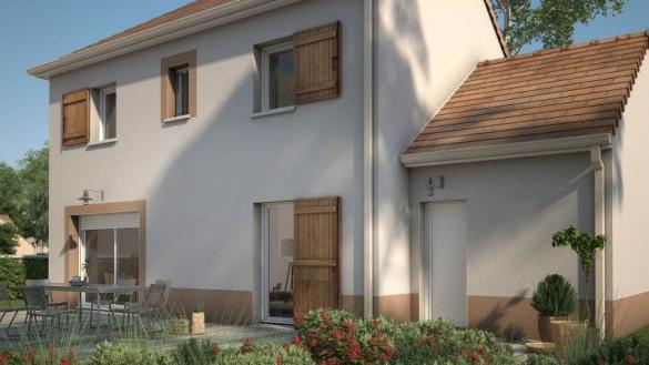 Maison+Terrain à vendre .(90 m²)(NOISY SUR ECOLE) avec (MAISONS BALENCY)