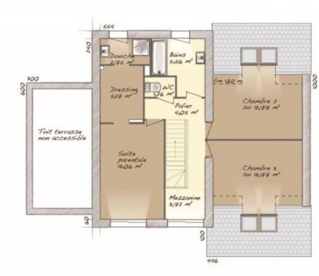 Maison+Terrain à vendre .(139 m²)(SAINT FARGEAU PONTHIERRY) avec (MAISONS BALENCY)