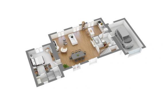 Maison+Terrain à vendre .(115 m²)(LA ROQUE D'ANTHERON) avec (MAISONS FRANCE CONFORT)