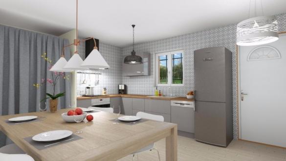 Maison+Terrain à vendre .(80 m²)(LA BASTIDE DES JOURDANS) avec (MAISONS FRANCE CONFORT)